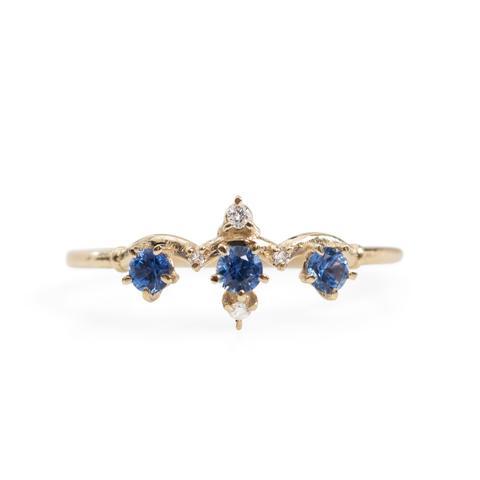 Sapphire Winter Waltz Ring