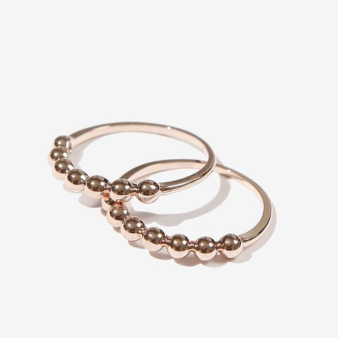 Tyreek Rose Gold Ring Set