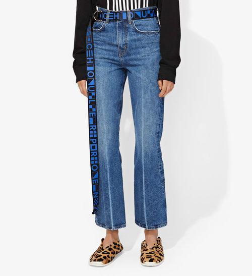Proenza Schouler PSWL Crop Kick Flare Jeans