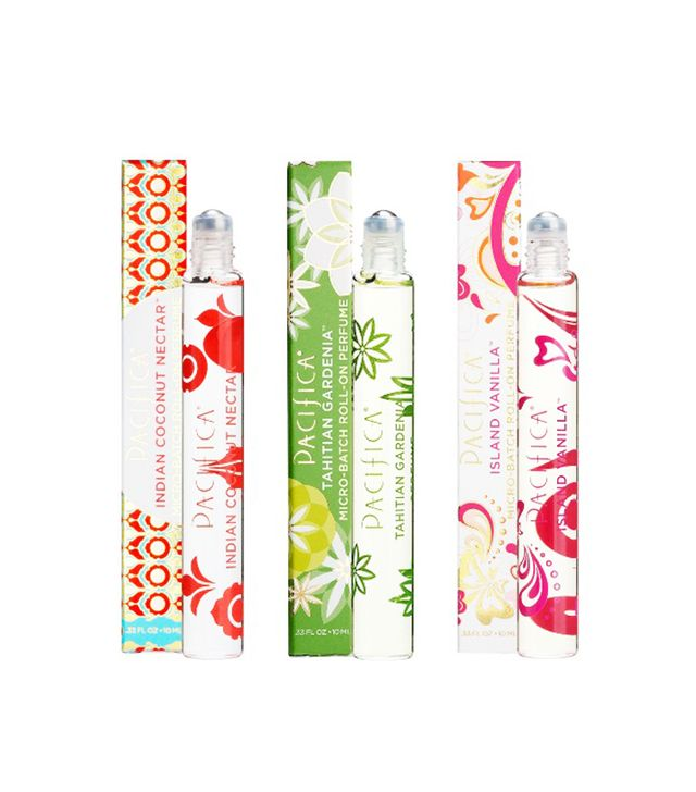 Pacifica Roll on Perfume Trio Holiday Set