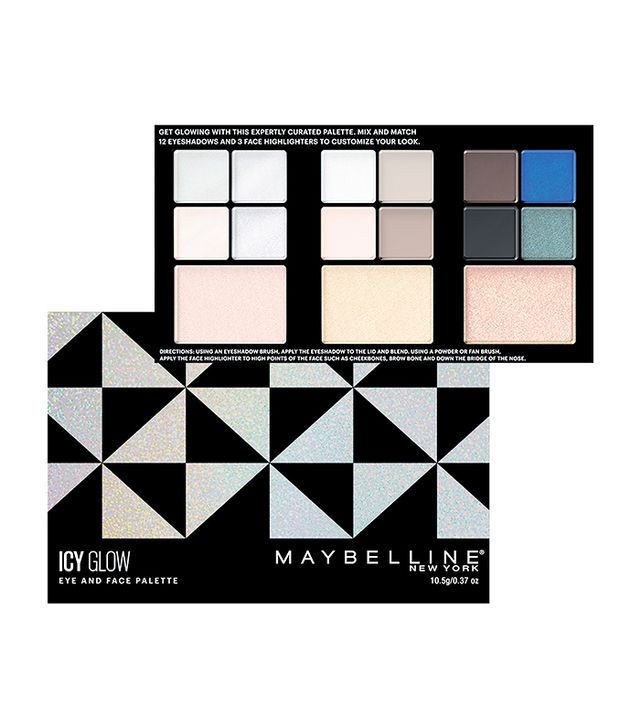 Maybelline Icy Glow Eye and Face Palette Gift Set