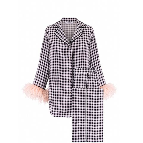 Bonne Année! Vichy Pajama Suit