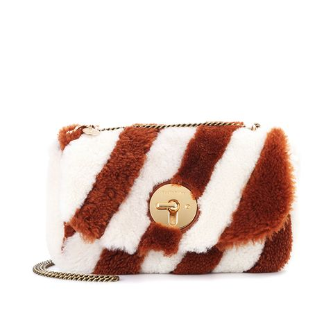 Lois Fur Shoulder Bag