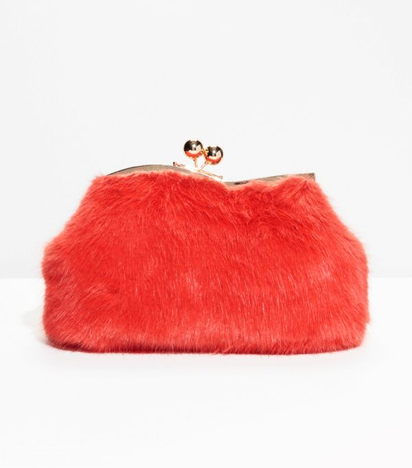 Faux Fur Clutch