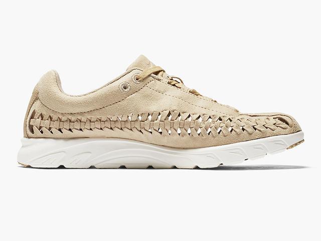 Nike Mayfly Woven Sneakers in Tan