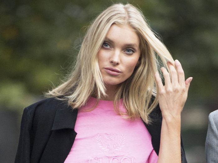 Elsa Hosk Wore Bold, Thigh-High Boots Everyone Will Have an Opinion On