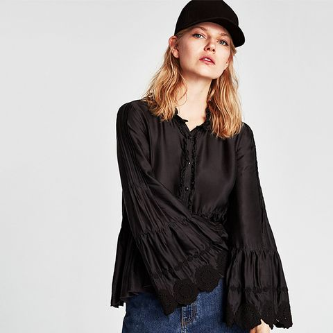 Frilly Blouse Details