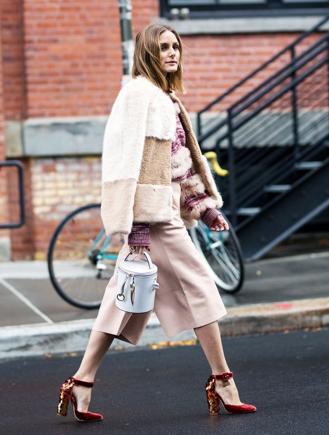 Olivia Palermo Just Wore The Perfect Faux Fur Zara Coat