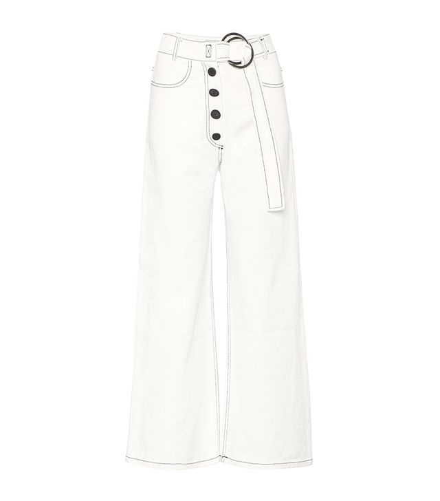 Rejina Pyo Emily Cropped Wide-Leg Jeans