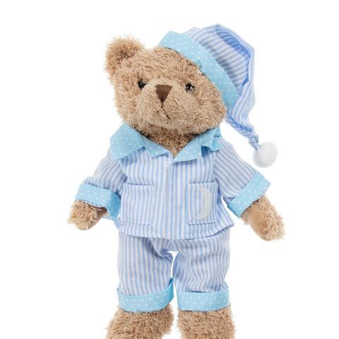Blue Stripe Pyjama Teddy Bear