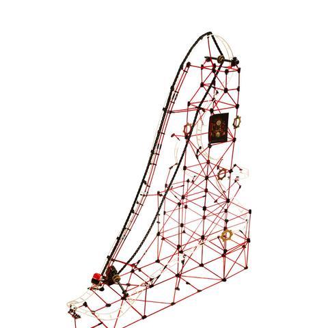 753-Piece Rollercoaster Building Set