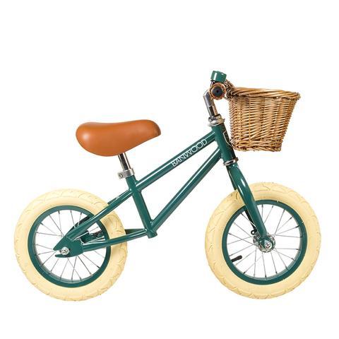 First Go Push Bike Green