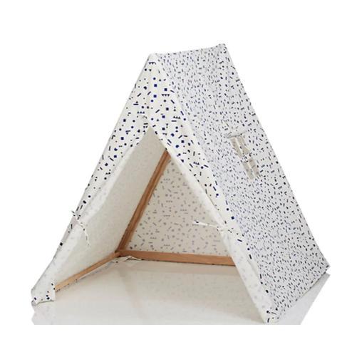 Geometric-Print Organic Cotton Tent
