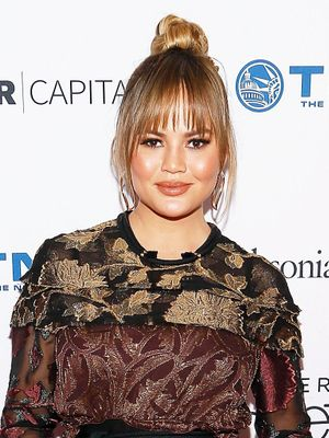 Chrissy Teigen Just Debuted Her Chic Baby Bump on the Red Carpet