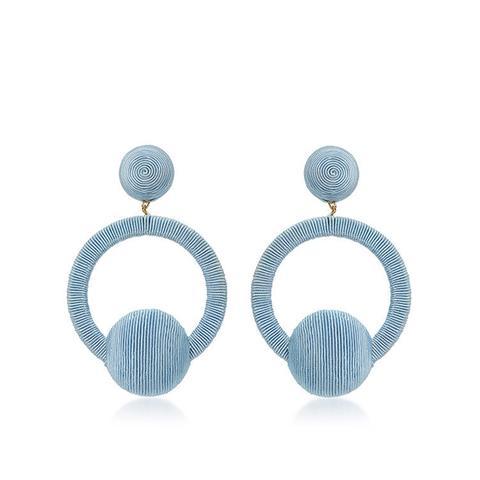 Claudia La La Hoop Earrings