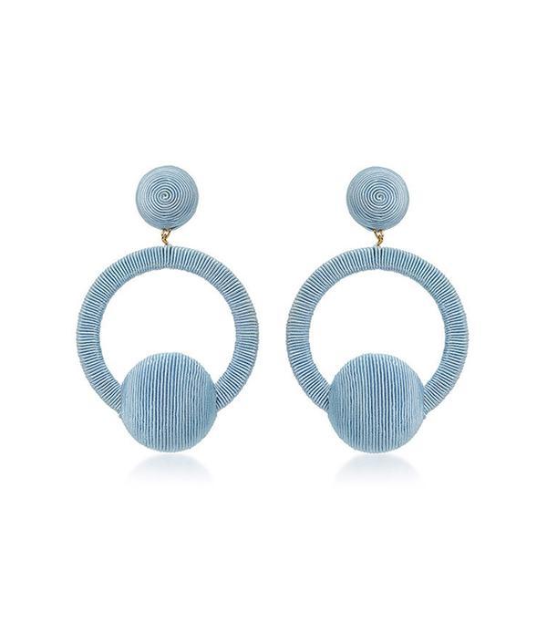 Rebecca de Ravenel Claudia La La Hoop Earrings