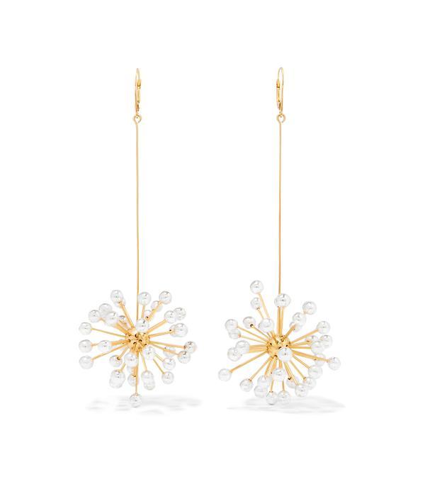 Ellery Dr. Mom Gold-Plated Earrings