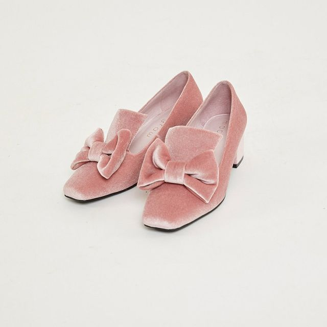 Macgraw Velvet Pink Love Slippers