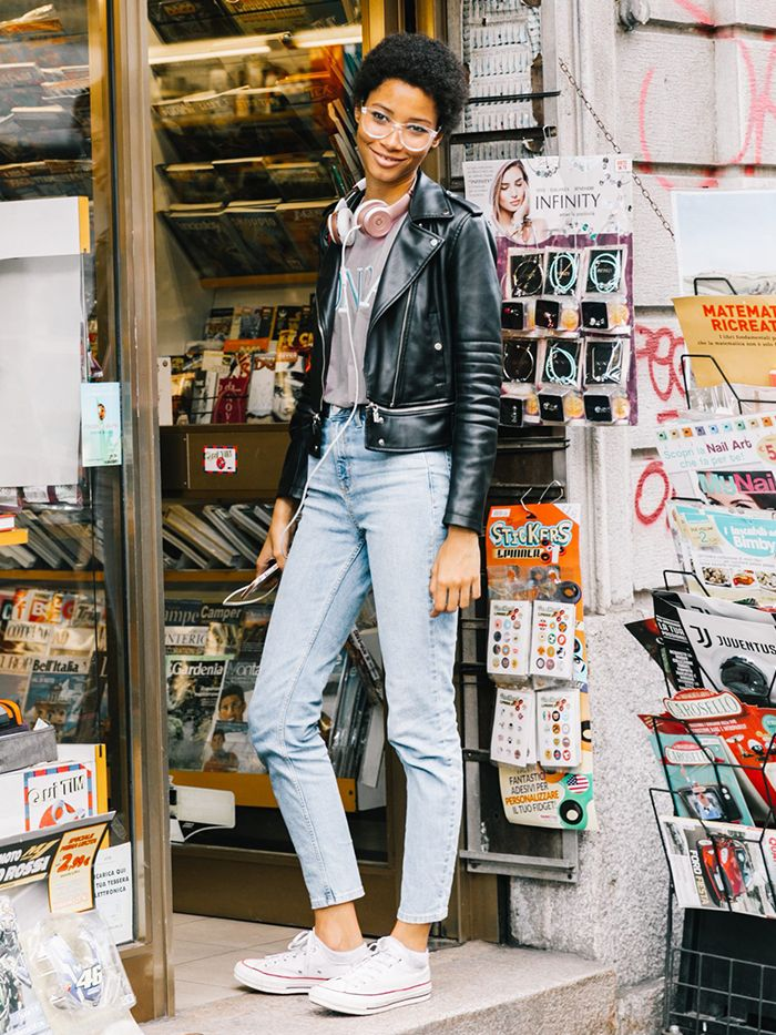 12 Jeans,and,Converse Outfits for Every Style