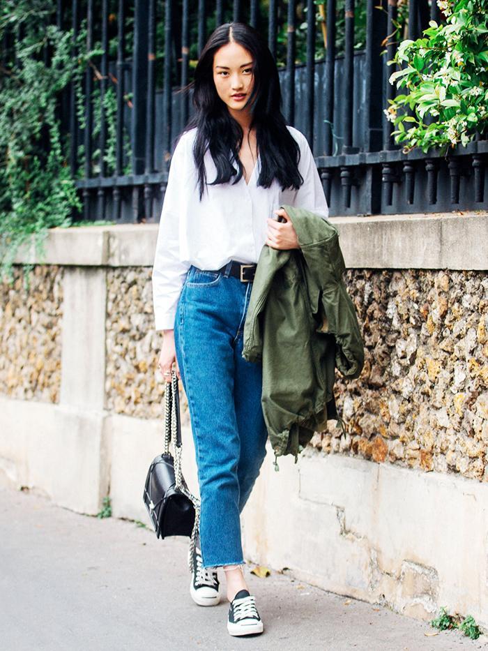 täysin tyylikäs virallinen myymälä uusi kokoelma 12 Jeans-and-Converse Outfits for Every Style | Who What Wear