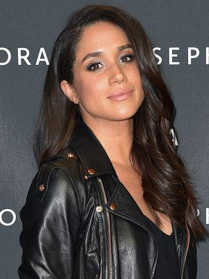 You Have to See Meghan Markle With Her Natural Curly Hair