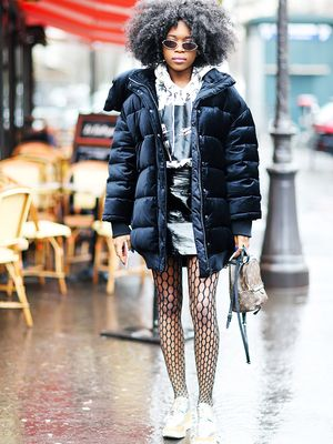 Sneakers and Tights: 5 Outfits That Prove This Isn't a Faux Pas After All