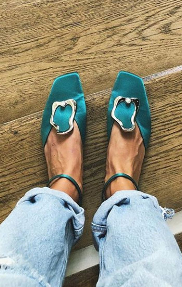 Best flat party shoes: Yuul Yie