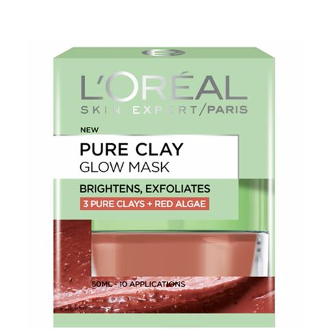 Pure Clay Glow Face Mask