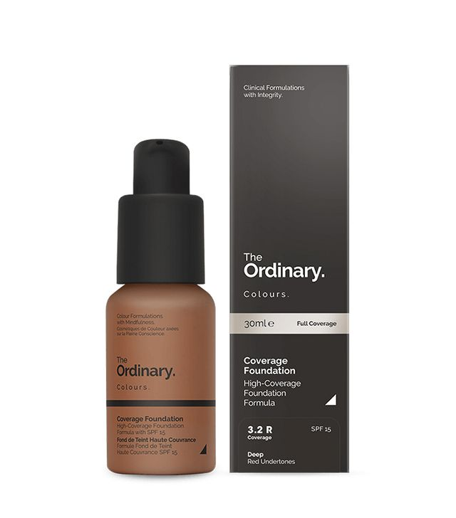 Best cheap full coverage foundation: The Ordinary Coverage Foundation