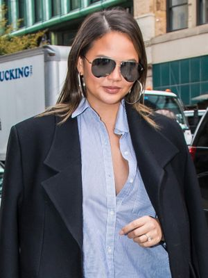 Chrissy Teigen Wore the Chicest Costume to Her Themed Birthday Party