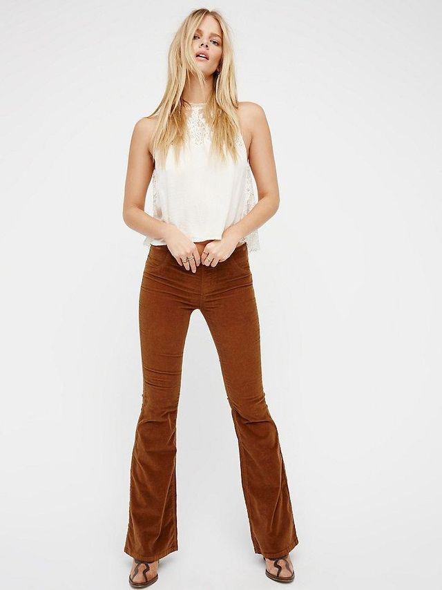Pull On Corduroy Flare by Free People