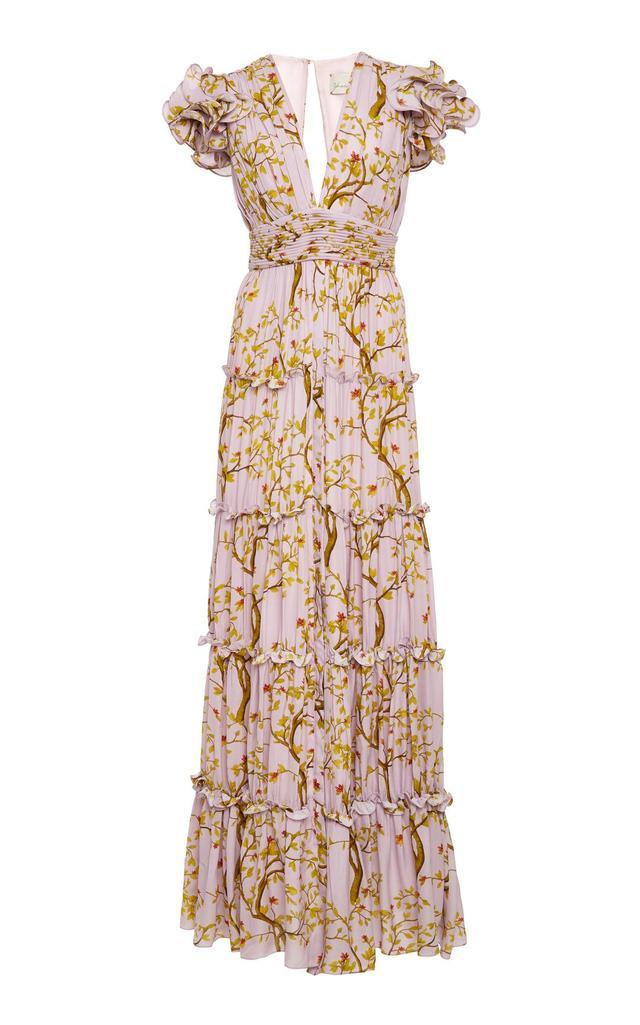 M'O Exclusive Lovedu Rain Queen Georgette Dress