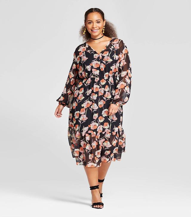 Who What Wear Flowy Maxi Dress