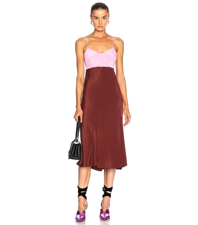Silk Bias Dress