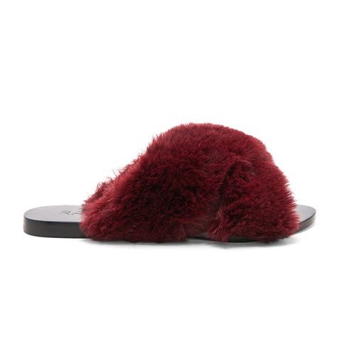 Sid Faux Fur Slide