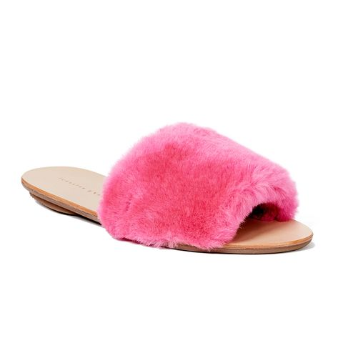Isabel Shearling Slides