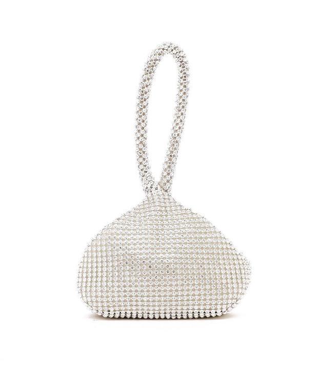 Nasty Gal Want Girl's Best Friend Diamante Bag