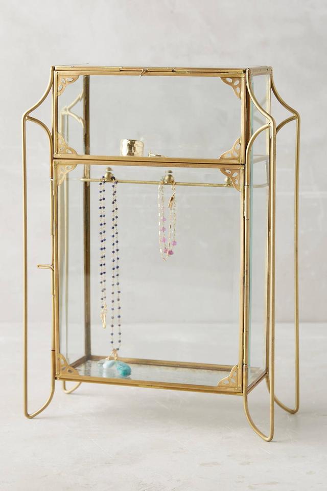 Standing Jewelry Cabinet