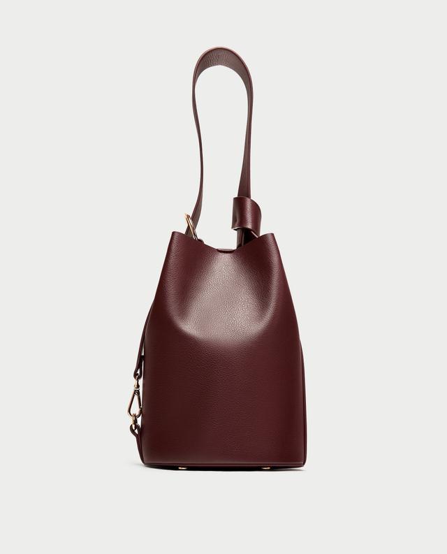 Zara Convertible Bucket Bag