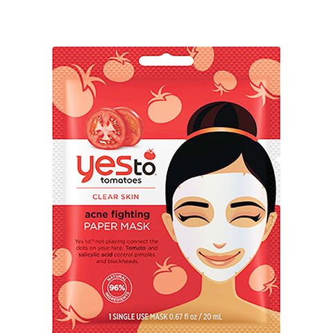 Tomatoes Clear Skin Acne Fighting Sheet Mask