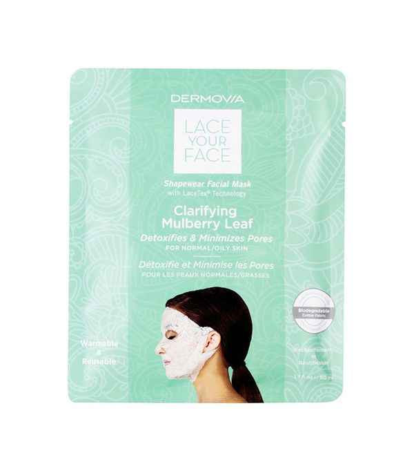 Lace Your Face Clarifying Mulberry Leaf Compression Facial Mask