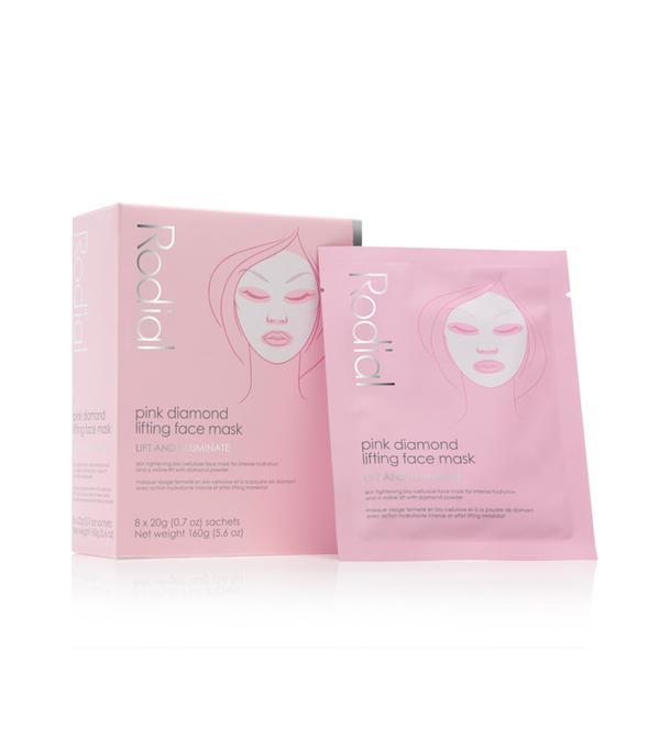 best sheet mask: Rodial Pink Diamond Lifting Face Mask