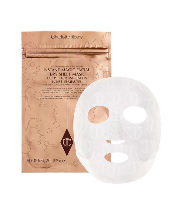 Best sheet mask: Charlotte Tilbury Instant Magic Facial Dry Sheet Mask