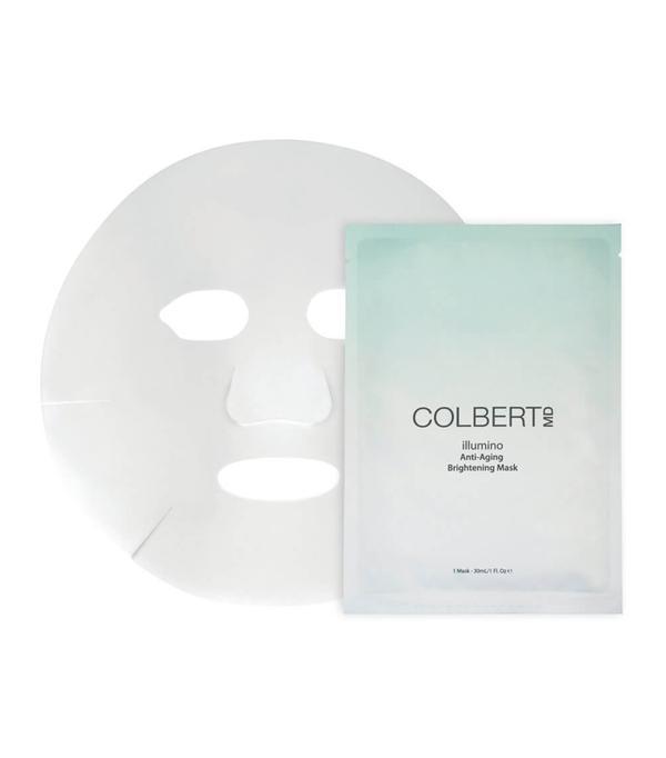 best sheet mask: Colbert MD Illumino Anti-Aging Brightening Mask