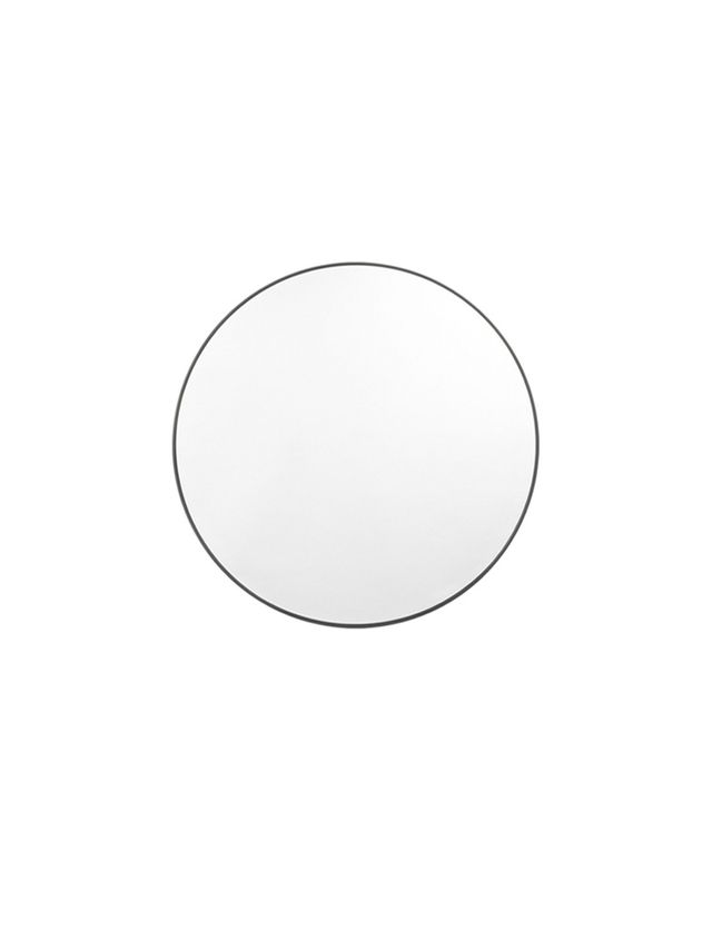 Middle of Nowhere Round Mirror