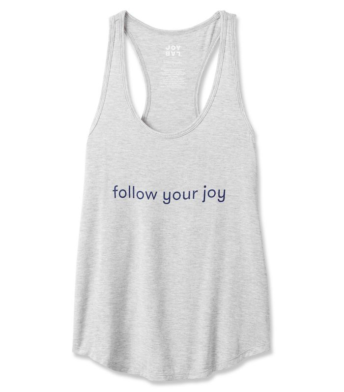 Women's Graphic Tank in Heather Gray by JoyLab