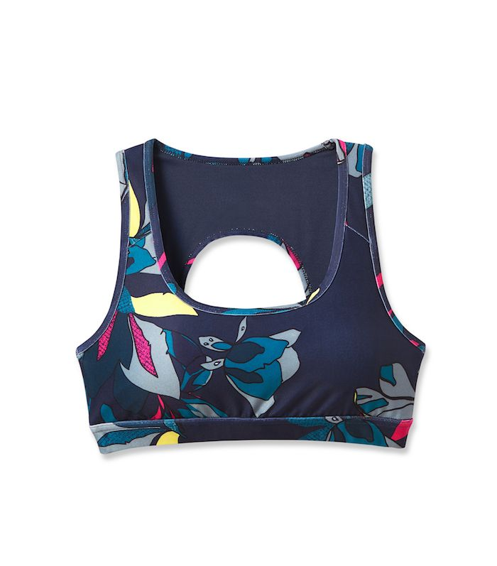Women's Tropical Print Sports Bra by JoyLab