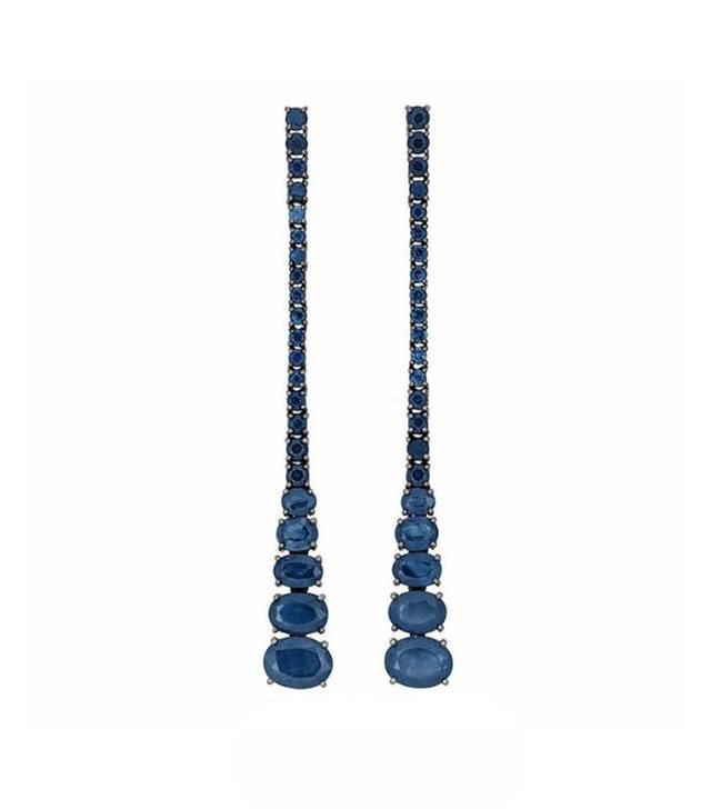 Jane Kaye Cascade Sapphire Earrings