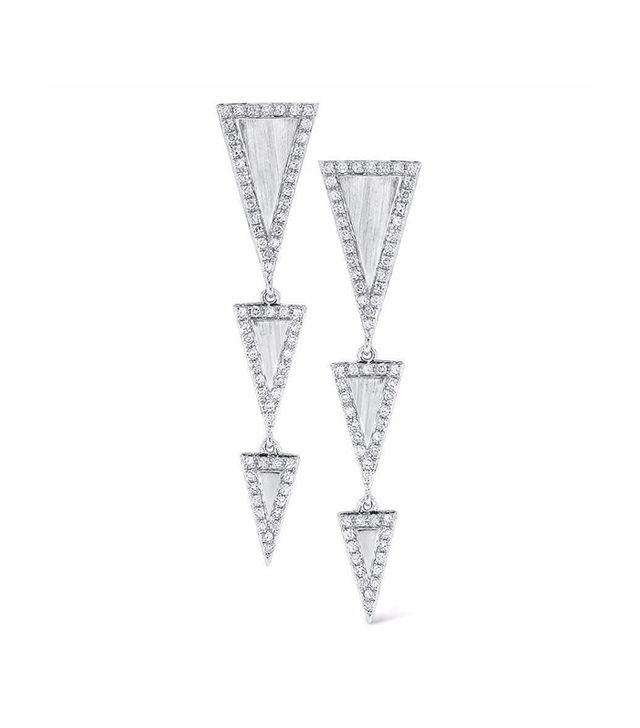 Ring Concierge Triangle Drop Earrings