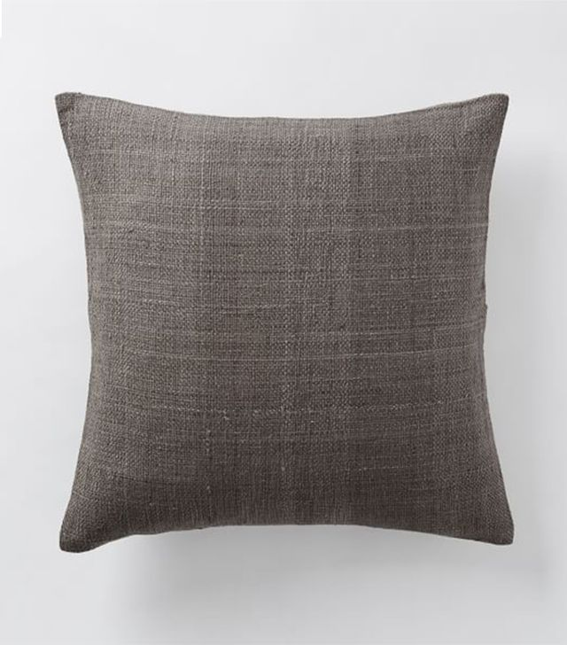 West Elm Silk Hand-Loomed Pillow Cover